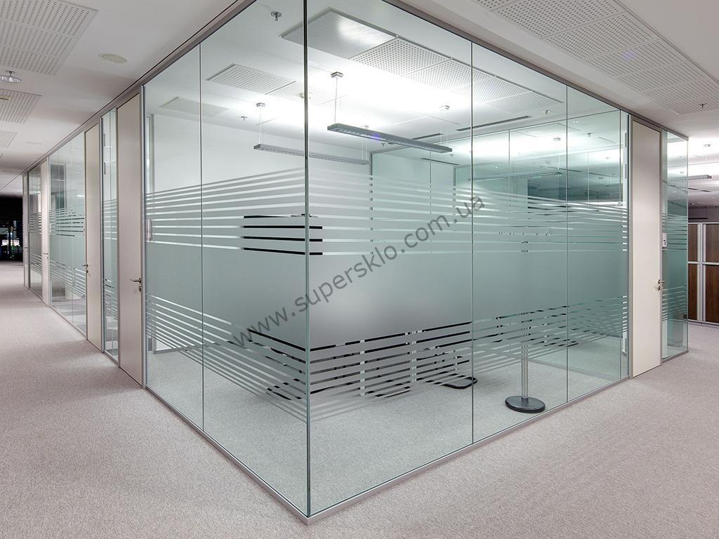 офисные стеклянные перегородки в Киеве и Харькове