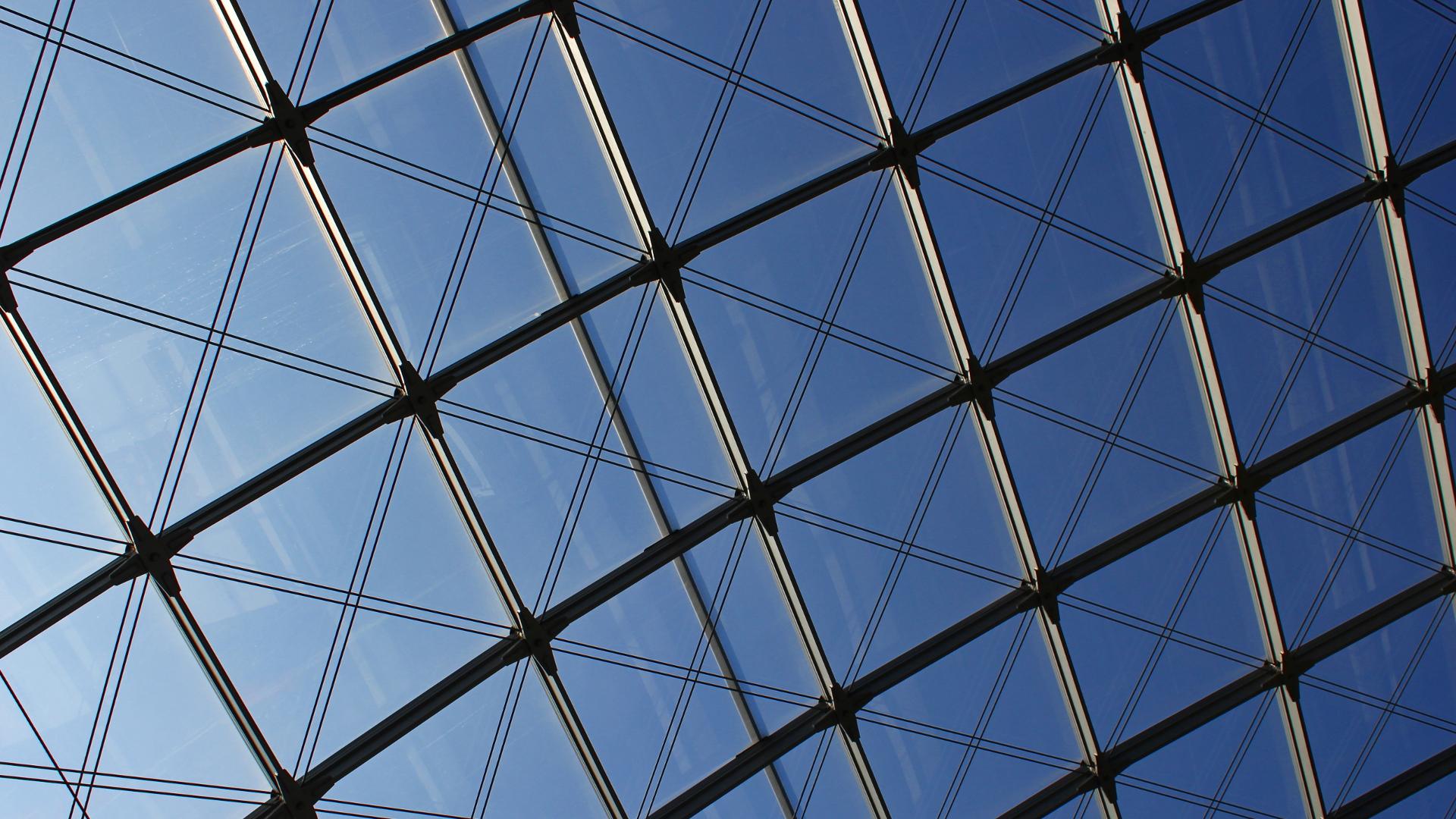 цельностеклянная крыша