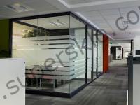 офисные стеклянные пергородки, Львов