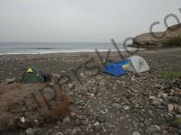 Канарские острова с палатками