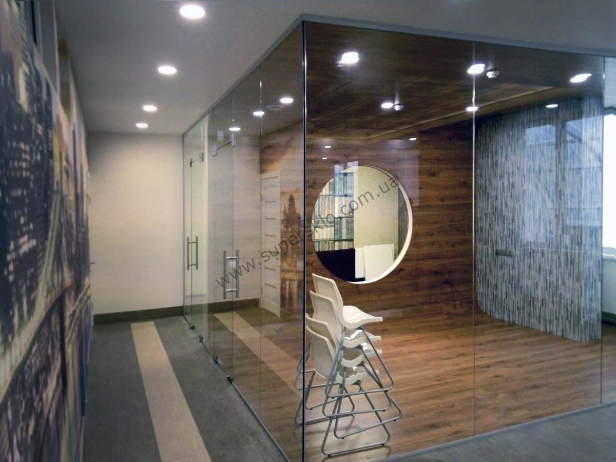 стеклянные перегородки в доме