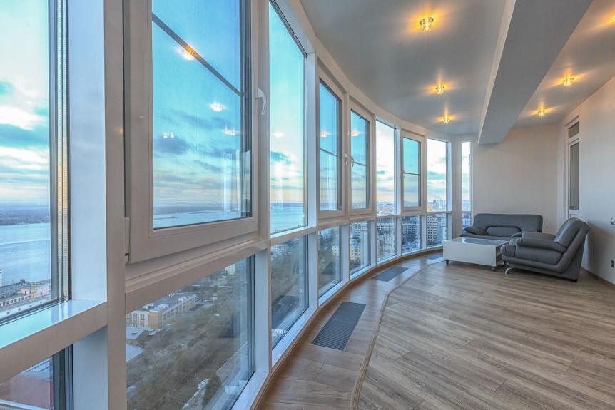 Панорамное остекление в квартире