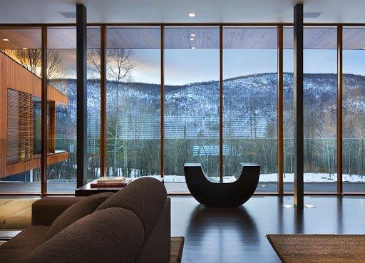 Панорамное остекление в доме